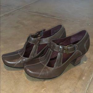 Clark's grey heels